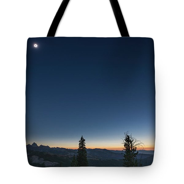 Day Becomes Night Tote Bag