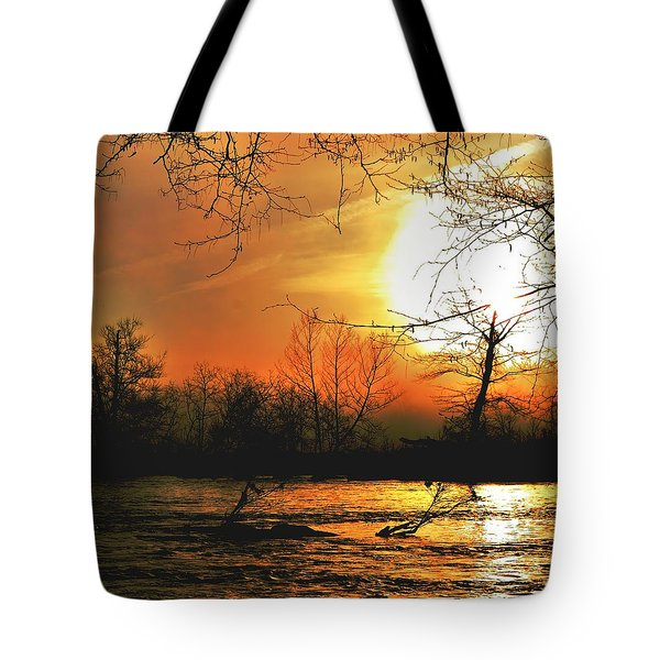 Tote Bag featuring the photograph Day Break by EDi by Darlene