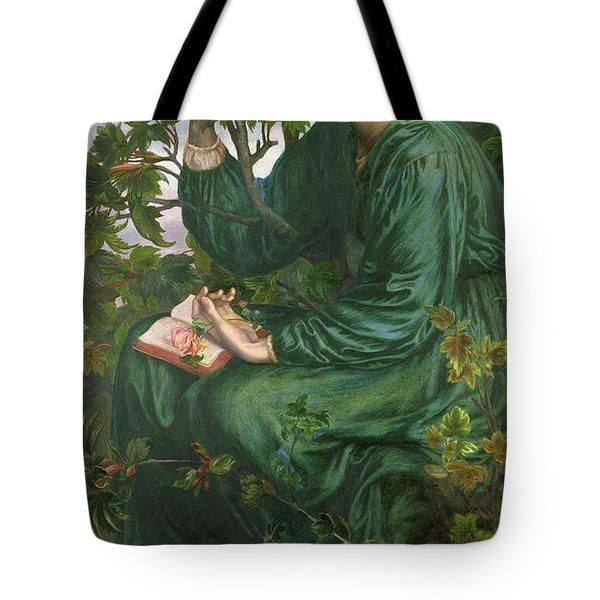 Day Dream Tote Bag by Dante Charles Gabriel Rossetti