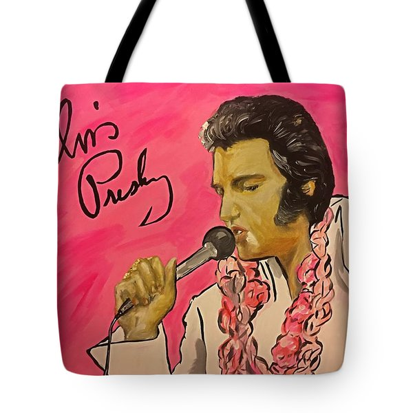 Day Dreaming King  Tote Bag by Miriam Moran