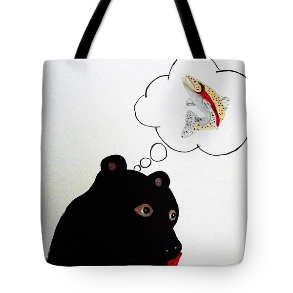 Day Dreaming Of Lunch Tote Bag by Joseph Frank Baraba