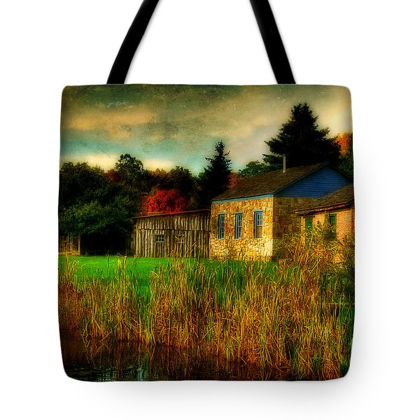 Day Is Done Tote Bag by Lois Bryan