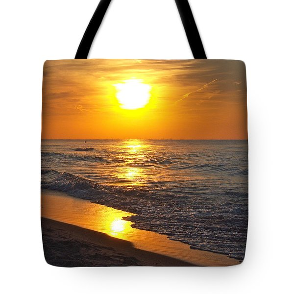 Day Is Done Tote Bag by Pamela Clements