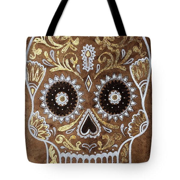 Tote Bag featuring the painting Day Of Death by J- J- Espinoza