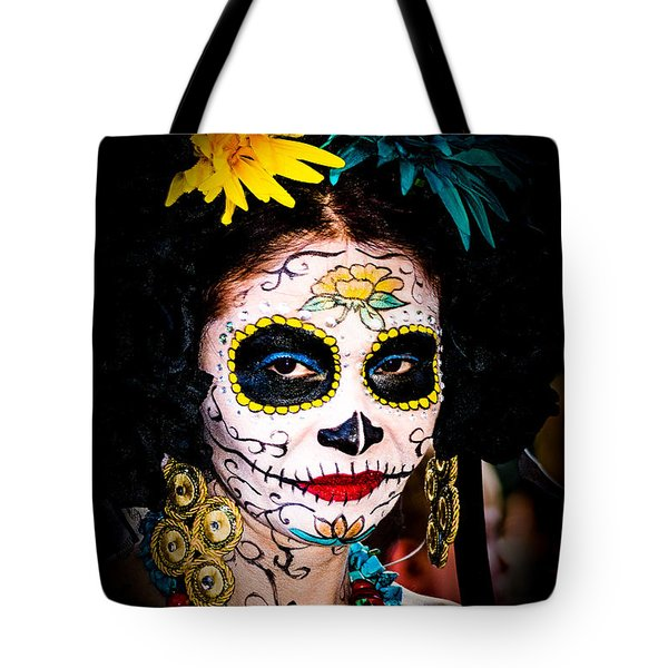 Day Of The Dead Eyes Tote Bag