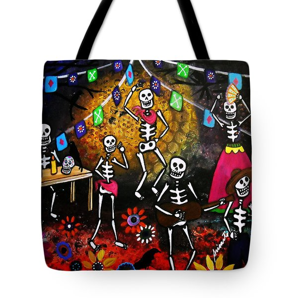 Day Of The Dead Festival Tote Bag