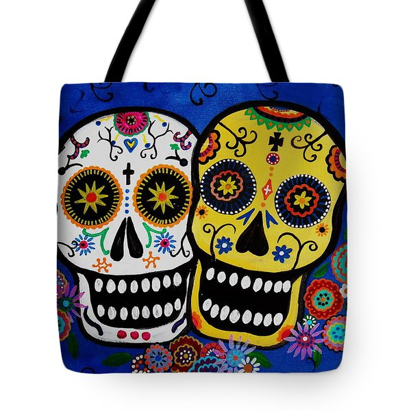 Day Of The Dead Sugar Tote Bag