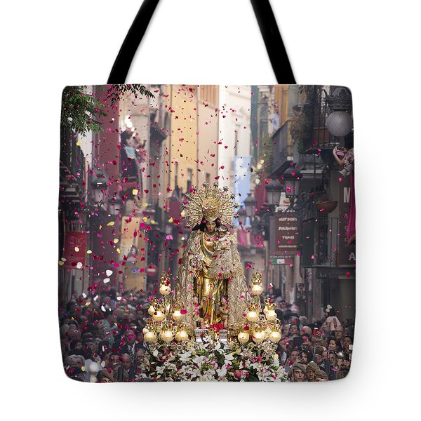 Day Of The Virgen De Los Desamparados Tote Bag