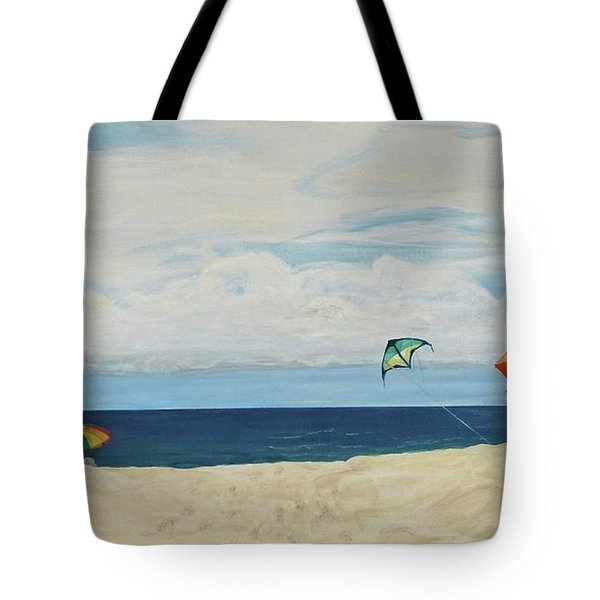 Day On Beach Tote Bag