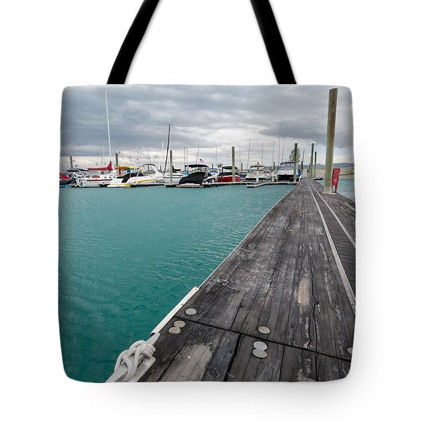Day On The Docks Tote Bag
