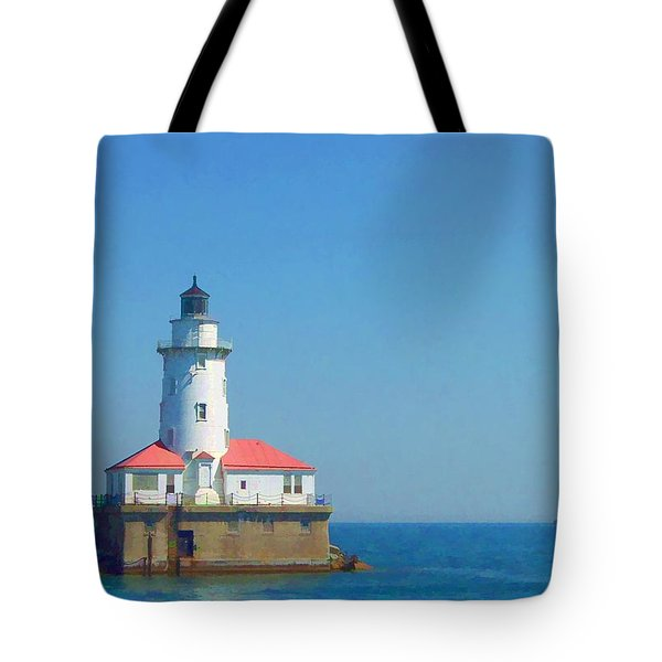 Day On The Lake Tote Bag by Lyle Hatch