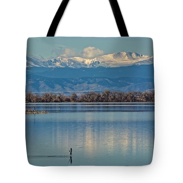 Day On The Lake Tote Bag