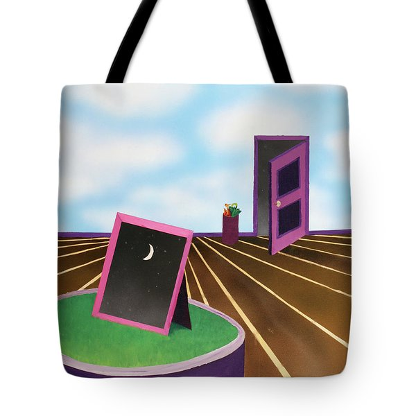 Tote Bag featuring the painting Day by Thomas Blood