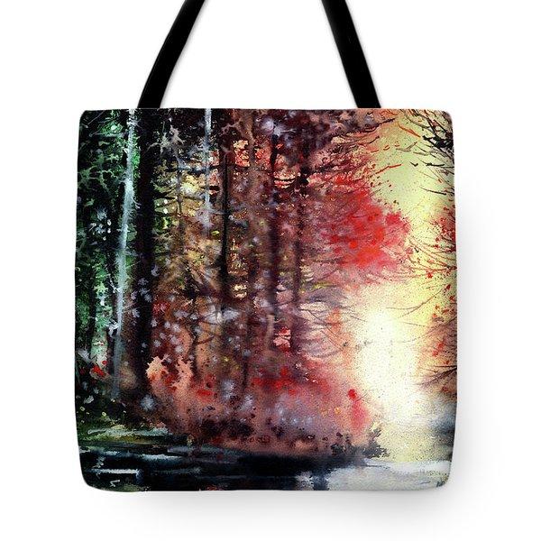 Daybreak 2 Tote Bag by Anil Nene