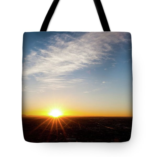 Tote Bag featuring the photograph Daybreak 2011 by SR Green