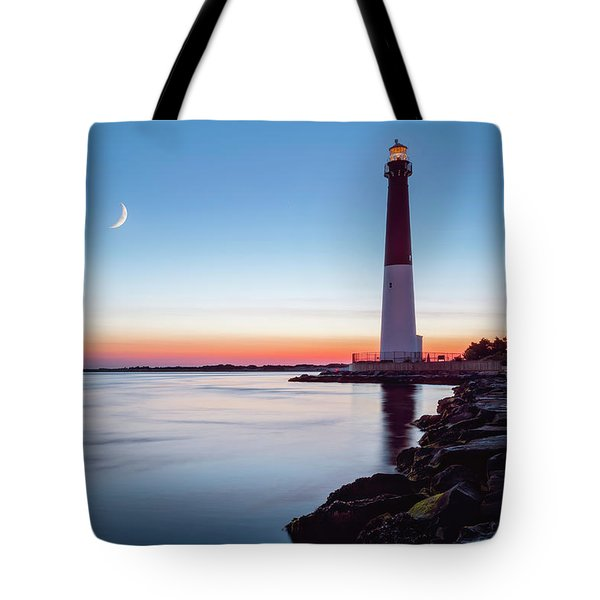 Daybreak At Barnegat Tote Bag by Eduard Moldoveanu
