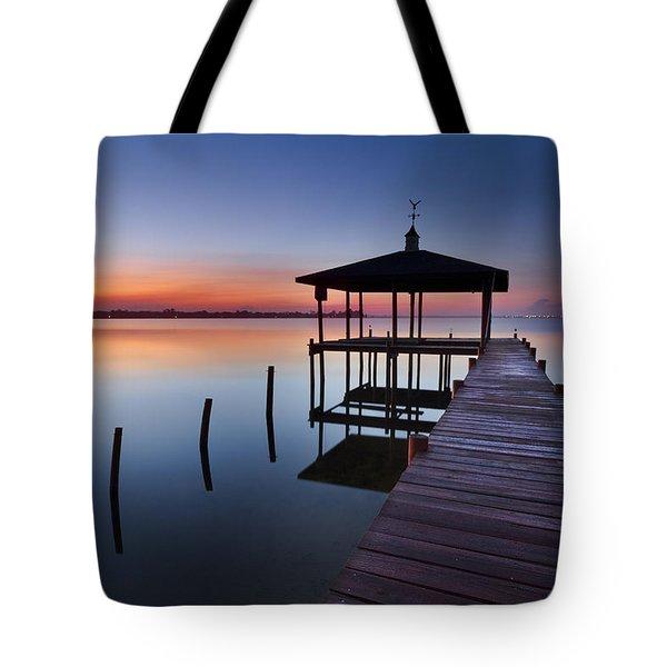 Daybreak Tote Bag by Debra and Dave Vanderlaan