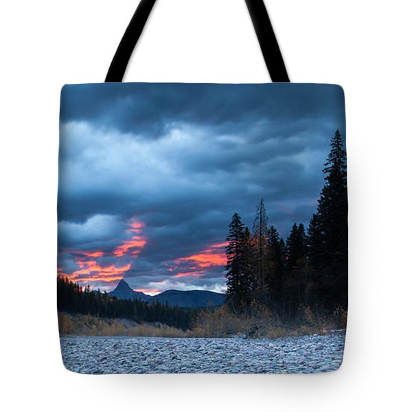 Tote Bag featuring the photograph Daybreak by Fran Riley