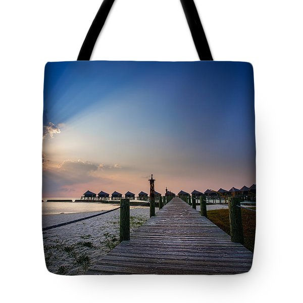 Daybreak Tote Bag by Ian Good