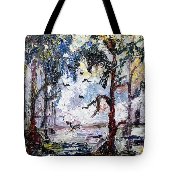Daybreak In The Okefenokee Tote Bag