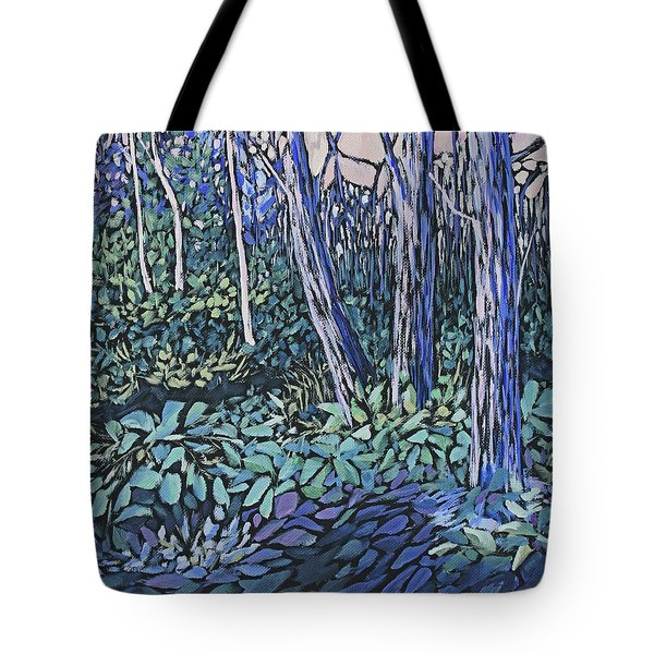 Tote Bag featuring the painting Daybreak by Joanne Smoley