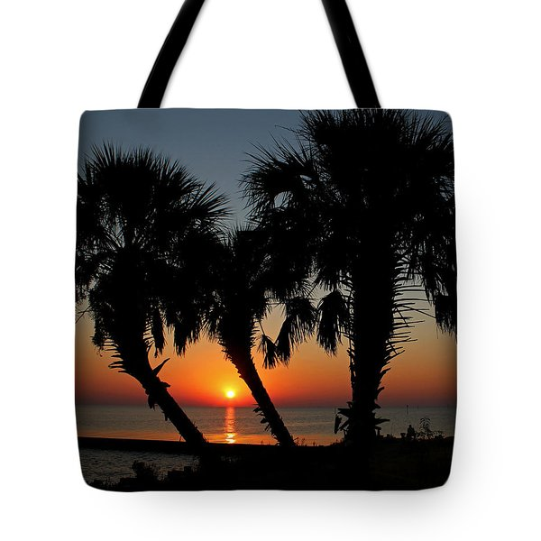 Tote Bag featuring the photograph Daybreak by Judy Vincent