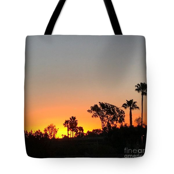 Tote Bag featuring the photograph Daybreak by Kim Nelson