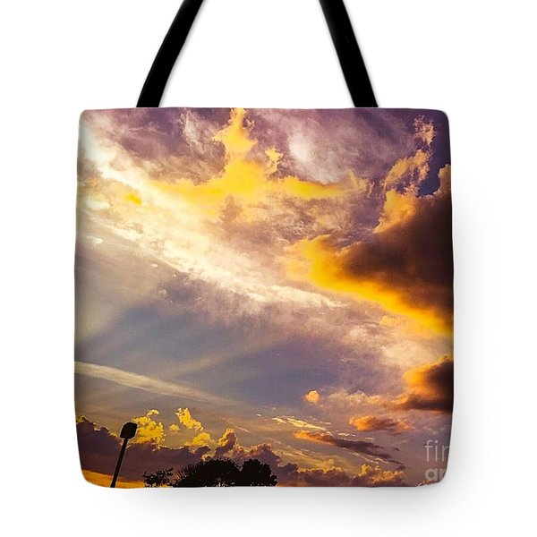 Daybreak Tote Bag by MaryLee Parker