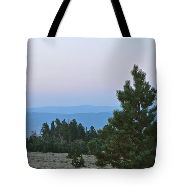 Daybreak On The Mountain Tote Bag