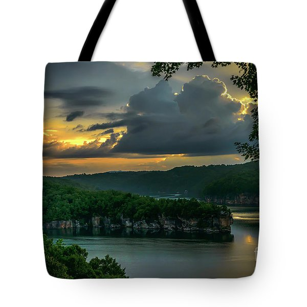 Daybreak Over Long Point Tote Bag