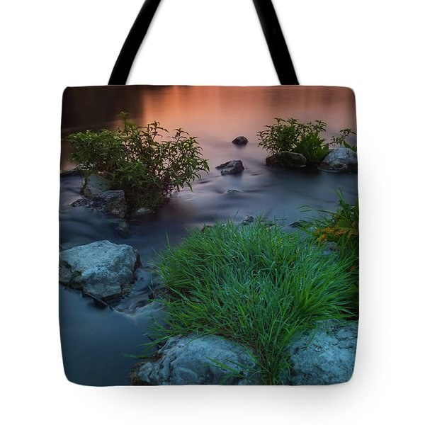 Daybreak Over The Old Reverbed Tote Bag
