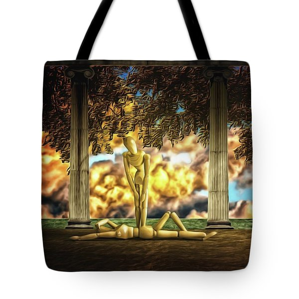 Tote Bag featuring the photograph Daybreak Redux by Mark Fuller