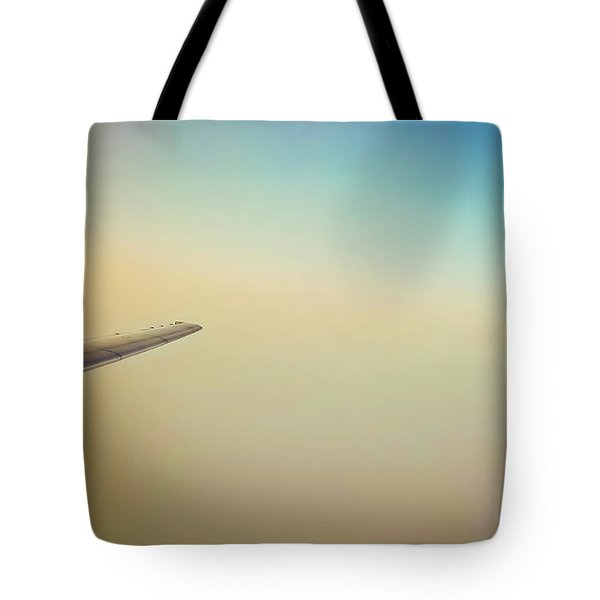 Tote Bag featuring the photograph Daydream Flight by Jonny D