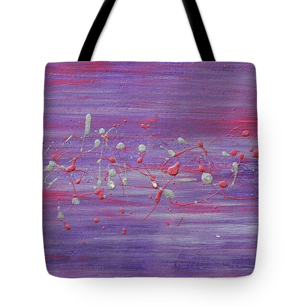 Daydream In Purple Tote Bag