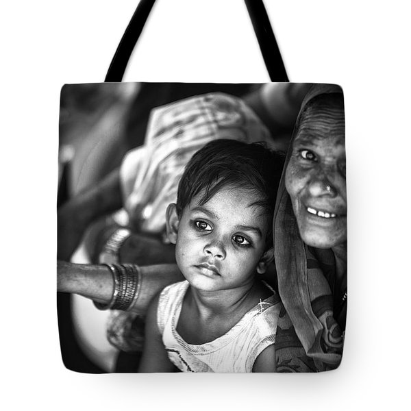 Daydreaming Little Princess Tote Bag
