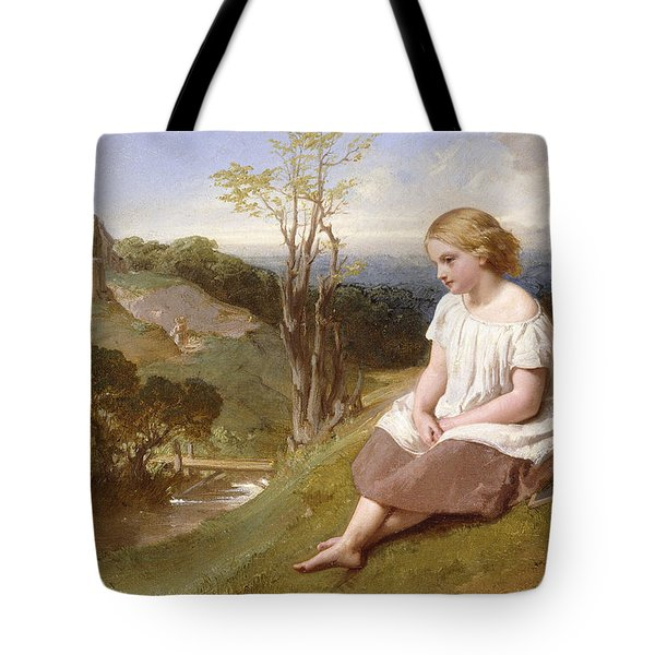 Daydreaming On The River Bank Tote Bag