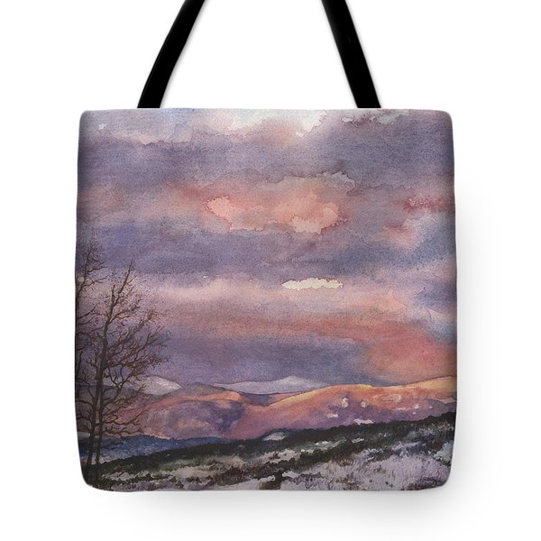 Daylight's Last Blush Tote Bag