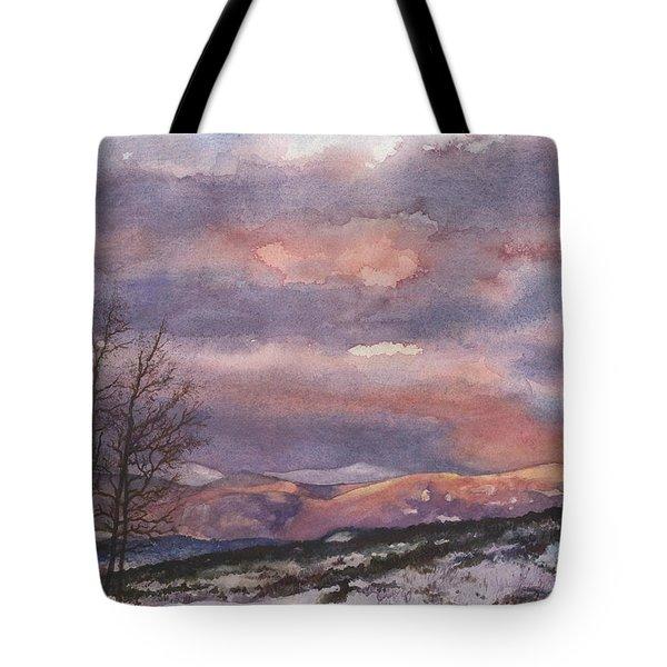 Daylight's Last Blush Tote Bag