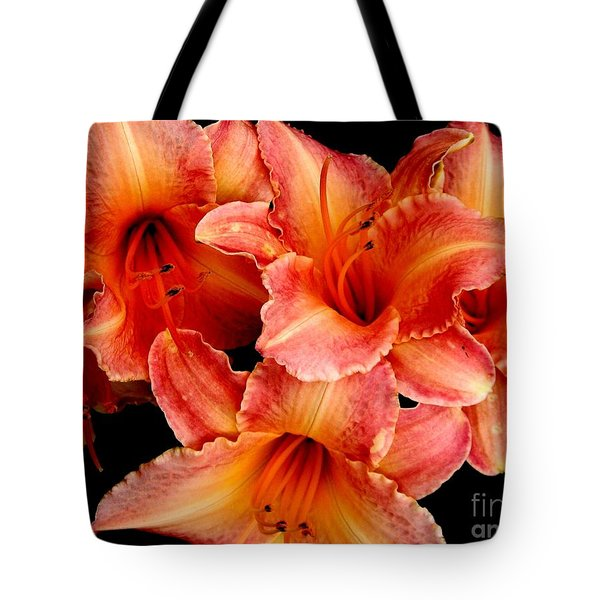 Daylilies 1 Tote Bag by Rose Santuci-Sofranko