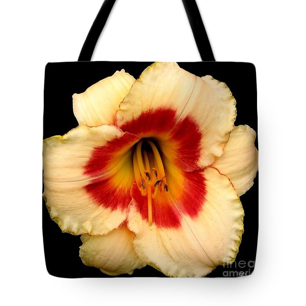 Daylily 3 Tote Bag by Rose Santuci-Sofranko