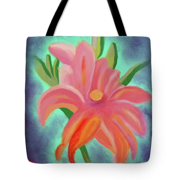Daylily At Dusk Tote Bag by Margaret Harmon