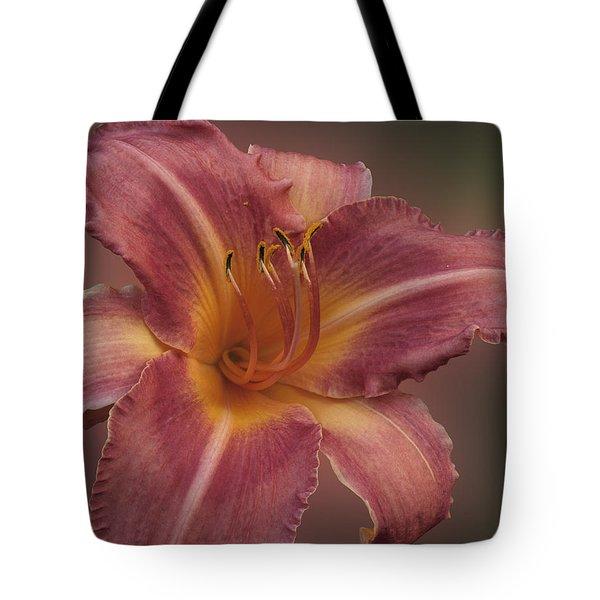 Daylily Blur Tote Bag
