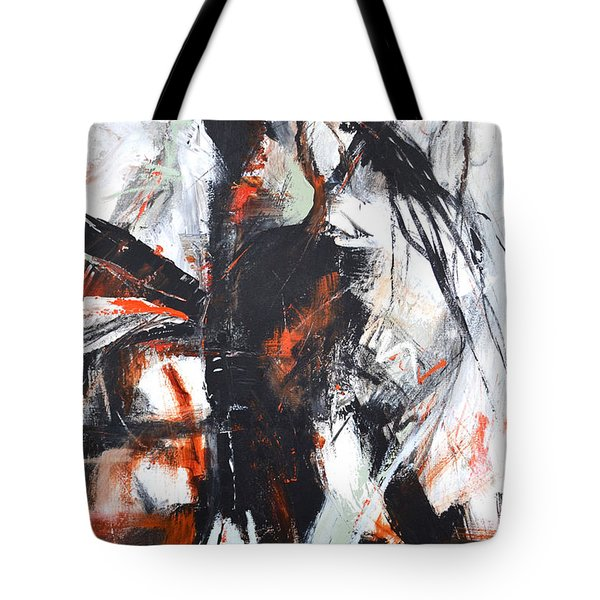 Tote Bag featuring the painting Day's End by Cher Devereaux