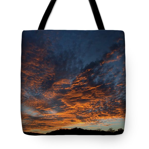 Day's Glorious Ending Tote Bag by Karen Musick
