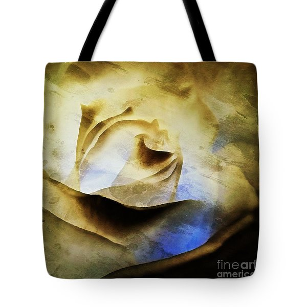 Tote Bag featuring the painting Days Go By - Rose - Dreamscape by Janine Riley