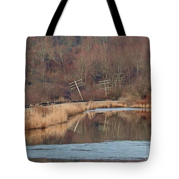 Tote Bag featuring the photograph Days Gone Bye by Christian Mattison