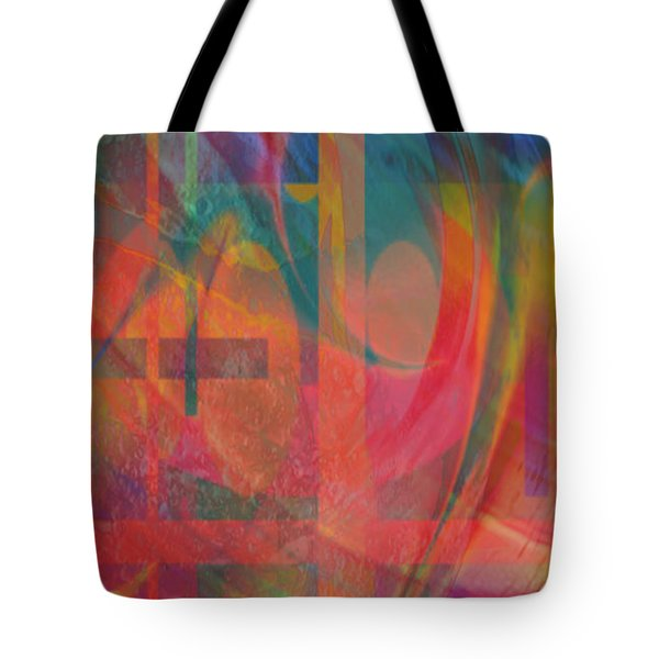 Tote Bag featuring the painting Days Of Summer by Kevin Caudill