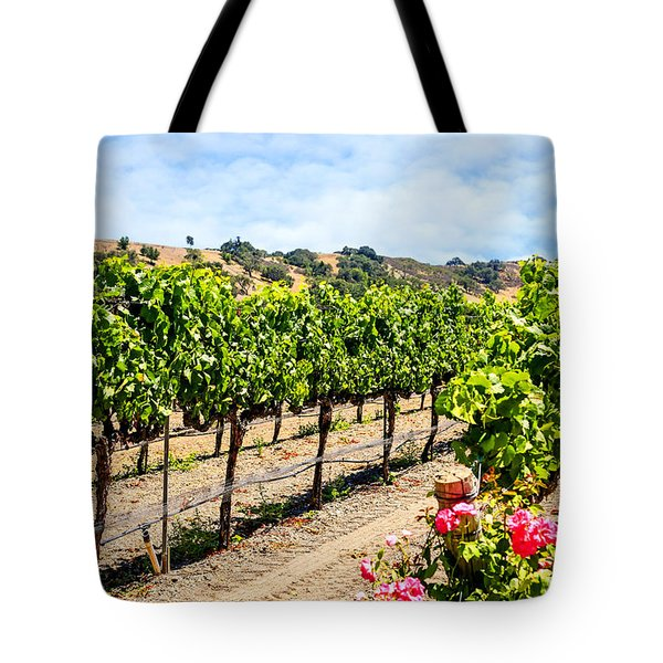 Days Of Vines And Roses Tote Bag by Chris Smith