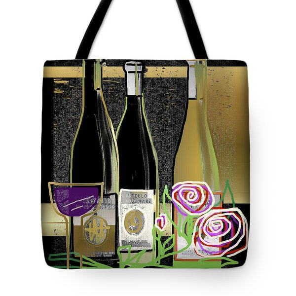 Days Of Wine And Roses Tote Bag