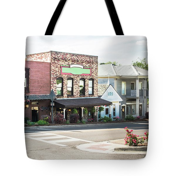 Tote Bag featuring the photograph Daytime In Old Town Helena by Parker Cunningham
